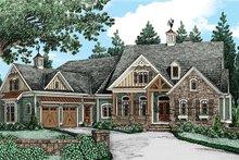 Dream House Plan - European Exterior - Front Elevation Plan #927-966