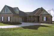 Country Style House Plan - 4 Beds 3 Baths 2500 Sq/Ft Plan #21-419 Exterior - Front Elevation