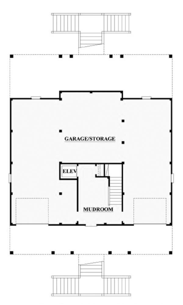 Country Floor Plan - Main Floor Plan Plan #991-31