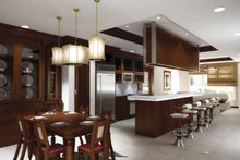 House Plan Design - Contemporary Interior - Kitchen Plan #11-272
