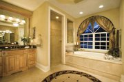 European Style House Plan - 4 Beds 4.5 Baths 5196 Sq/Ft Plan #930-361 Interior - Master Bathroom