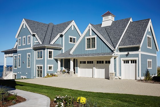 Architectural House Design - Country Exterior - Front Elevation Plan #928-297