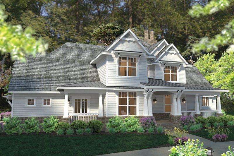 Craftsman Exterior - Front Elevation Plan #120-248 - Houseplans.com