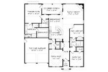 Victorian Floor Plan - Main Floor Plan Plan #413-868
