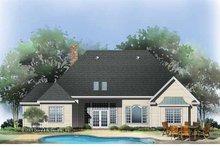 Craftsman Exterior - Rear Elevation Plan #929-783