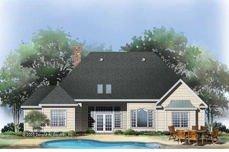 Craftsman Exterior - Rear Elevation Plan #929-783 - Houseplans.com