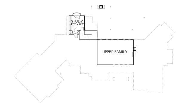 Dream House Plan - Prairie Floor Plan - Upper Floor Plan #80-211