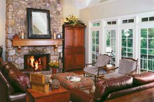 Country Interior - Family Room Plan #929-300