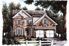 Home Plan - Country Exterior - Front Elevation Plan #927-671
