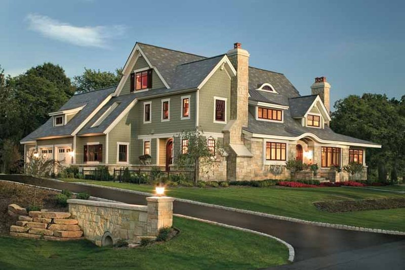 Dream House Plan - Craftsman Exterior - Front Elevation Plan #928-19