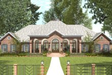 Dream House Plan - Southern Exterior - Front Elevation Plan #406-9614