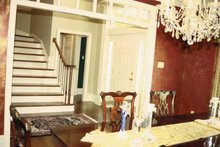 Dream House Plan - Traditional Interior - Entry Plan #17-2629