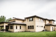 Adobe / Southwestern Style House Plan - 3 Beds 3 Baths 5290 Sq/Ft Plan #451-25 Exterior - Rear Elevation