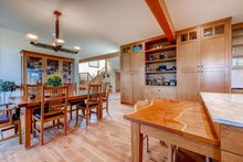 Dream House Plan - Prairie Interior - Dining Room Plan #1042-18