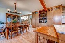 Architectural House Design - Prairie Interior - Dining Room Plan #1042-18