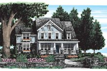 Craftsman Exterior - Front Elevation Plan #927-165