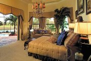 Mediterranean Style House Plan - 4 Beds 4.5 Baths 4951 Sq/Ft Plan #930-353 Interior - Master Bedroom