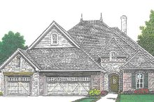 Country Exterior - Front Elevation Plan #310-1270