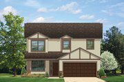Traditional Style House Plan - 4 Beds 2.5 Baths 1810 Sq/Ft Plan #1058-21 Exterior - Front Elevation