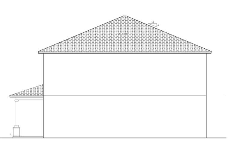 Mediterranean Exterior - Other Elevation Plan #1058-64 - Houseplans.com