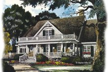 Home Plan - Country Exterior - Front Elevation Plan #429-436
