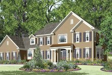 Architectural House Design - Traditional Exterior - Front Elevation Plan #328-464