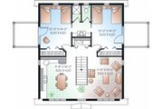 Country Style House Plan - 2 Beds 1.5 Baths 992 Sq/Ft Plan #23-756 Floor Plan - Upper Floor