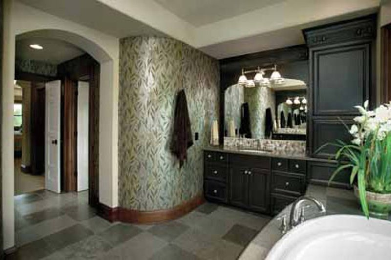 Classical Interior - Master Bathroom Plan #928-55 - Houseplans.com