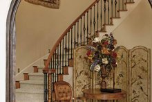 House Plan Design - Mediterranean Interior - Entry Plan #952-196