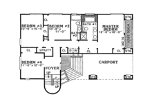 Contemporary Floor Plan - Main Floor Plan Plan #314-280