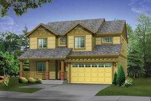 House Plan Design - Craftsman Exterior - Front Elevation Plan #569-21