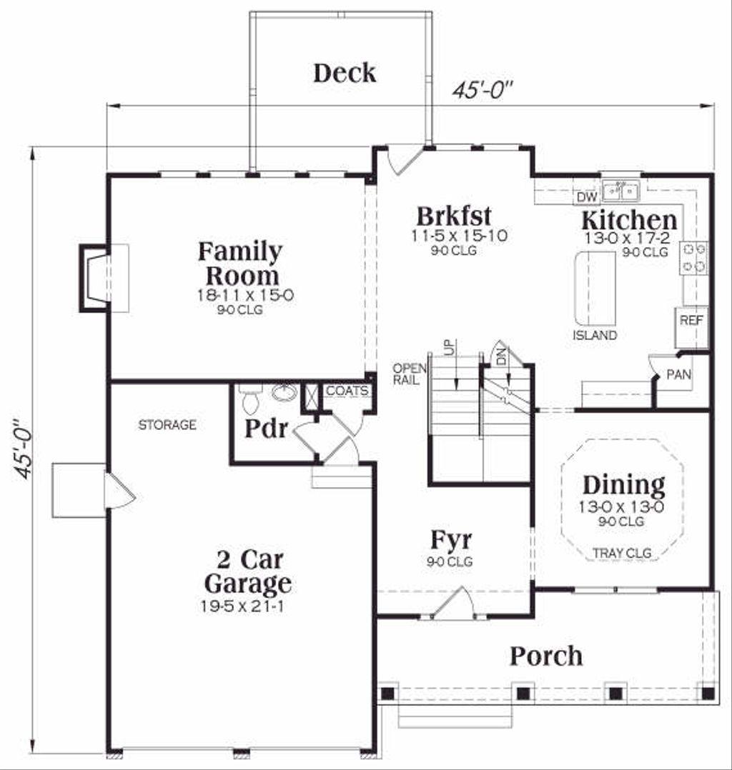 Craftsman Style House Plan 3 Beds 25 Baths 2465 SqFt Plan 419
