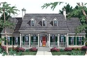 Southern Style House Plan - 3 Beds 2.5 Baths 2127 Sq/Ft Plan #406-225 Exterior - Front Elevation
