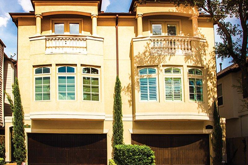 Architectural House Design - Mediterranean Exterior - Front Elevation Plan #1021-16