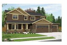 Home Plan - Craftsman Exterior - Front Elevation Plan #943-28