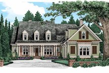 Dream House Plan - Rendering Front