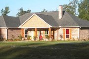 Traditional Style House Plan - 3 Beds 2 Baths 1853 Sq/Ft Plan #21-334 Exterior - Other Elevation