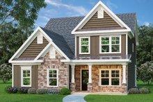 Craftsman Exterior - Front Elevation Plan #419-207