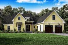 Farmhouse Exterior - Front Elevation Plan #1067-1