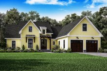 Architectural House Design - Farmhouse Exterior - Front Elevation Plan #1067-1