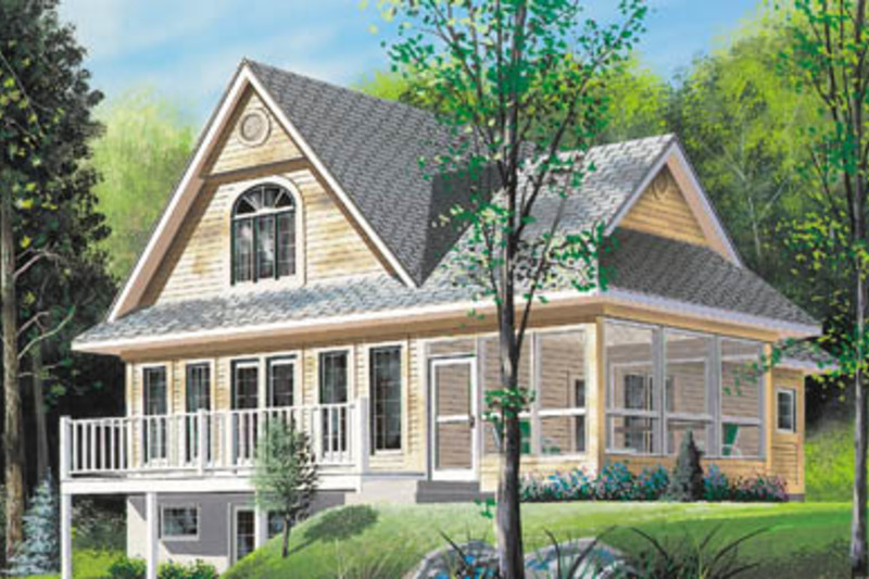 Traditional Exterior - Front Elevation Plan #23-2039
