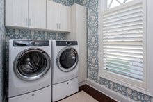 Ranch Interior - Laundry Plan #70-1467