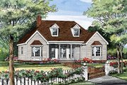 Country Style House Plan - 3 Beds 2 Baths 1380 Sq/Ft Plan #456-2 Photo