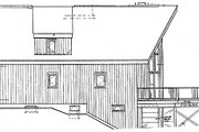 Cabin Style House Plan - 3 Beds 2 Baths 1306 Sq/Ft Plan #3-104