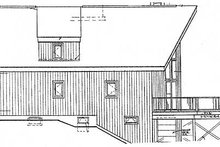 House Plan Design - Cabin Exterior - Other Elevation Plan #3-104