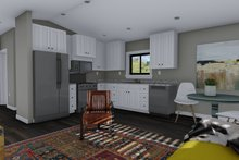 House Plan Design - Traditional Interior - Kitchen Plan #1060-97