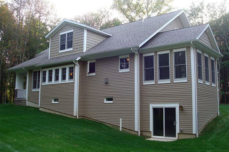 Bungalow Exterior - Rear Elevation Plan #929-38 - Houseplans.com