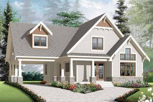 Dream House Plan - Traditional Exterior - Front Elevation Plan #23-2546