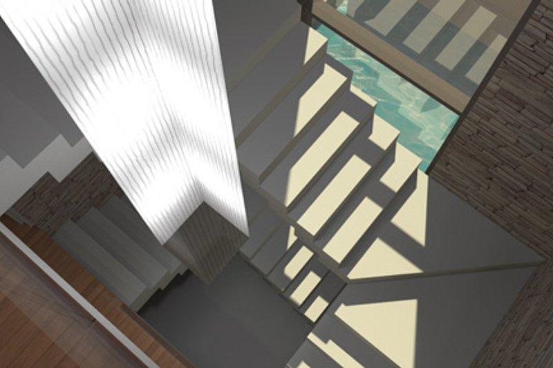 Contemporary Interior - Entry Plan #64-324 - Houseplans.com