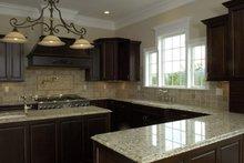 Classical Interior - Kitchen Plan #137-301